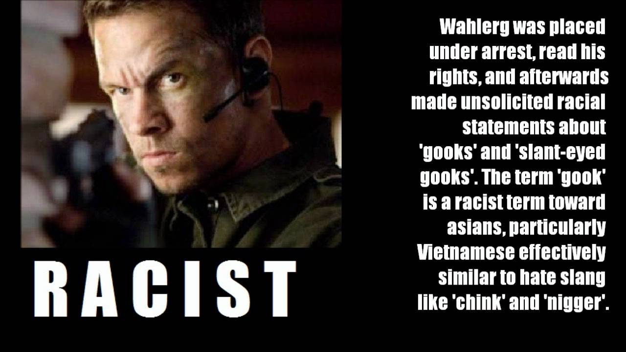 RACIST actor Mark Wahlberg attacks two Vietnamese Men ... Mark Wahlberg Racist