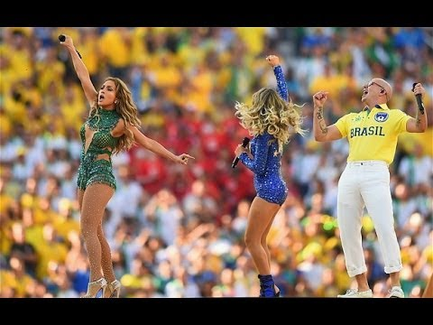 We Are One (Ole Ola) Live @ FIFA World Cup Ceremony Pitbull,JLO,Claudia