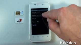 Android podešavanje - Usluga nedostupna - Izabrana mreža nedostupna