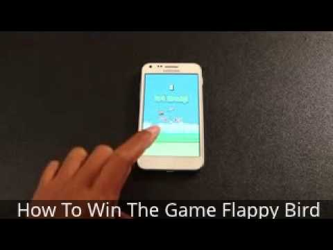How To Win The Game Flappy Bird, My brilliant idea of ??using a unique tool