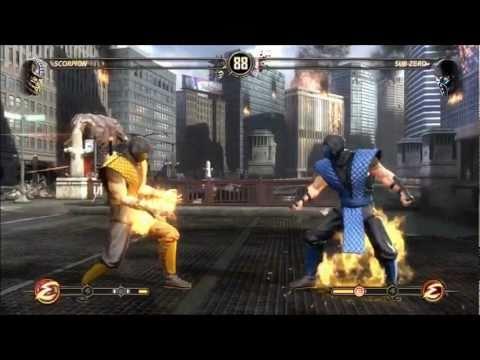 Mortal Kombat (2011) - Klassic Skins Pack #1 Montage (Xbox 360)