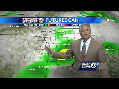 Storms could re-fire again Monday afternoon, evening