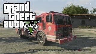 GTA 5: Test Résistance D'un Camion De Pompier [MGGFR