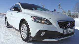 2013 Volvo V40 Cross Country D2. Start Up, Engine, and In Depth Tour.. MegaRetr