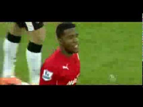 Wilfried Zaha debut for Cardiff City