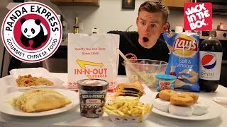 "THE ALL AMERICAN ""MUKBANG"""