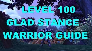Warlords Of Draenor Level 100 Gladiator Stance Warrior