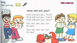 How old are you Song, Listen and Sing