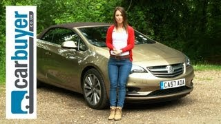 Vauxhall Cascada Convertible 2013 Review CarBuyer