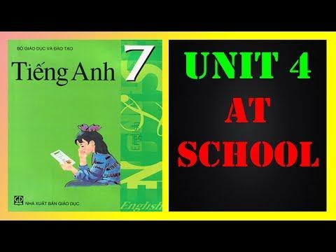 Tiếng Anh lớp 7 - Unit 4 At school