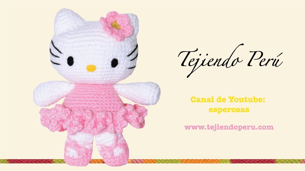 Hello Kitty tejida a crochet (amigurumi) Parte 2: cuerpo ...