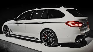BMW 5 Series Touring with M Performance Parts (2017). YouCar Car Reviews.