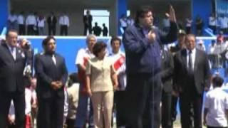 Discurso Del Presidente Alan García En Inauguración De