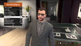 GTA 5 ALL DIFFRENT TYPES OF GLASSES TO BUY ONLINE!