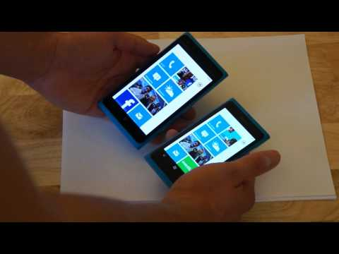 Nokia Lumia 900 vs. Lumia 800: The Differences