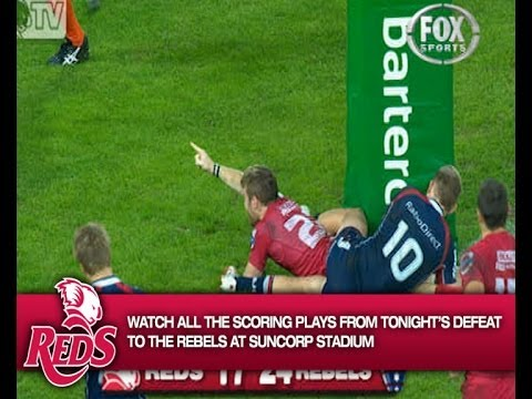 Reds vs Rebels Rd.14 2014 | Super Rugby Video Highlights - Reds vs Rebels Rd.14 2014 | Super Rugby V