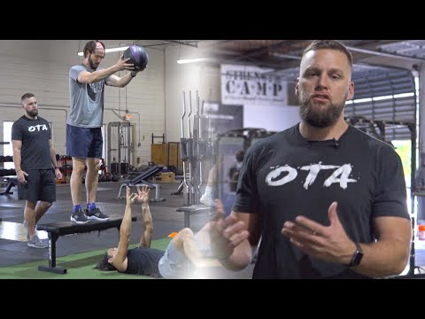 Supine MB Chest Pass For Upper Body Power
