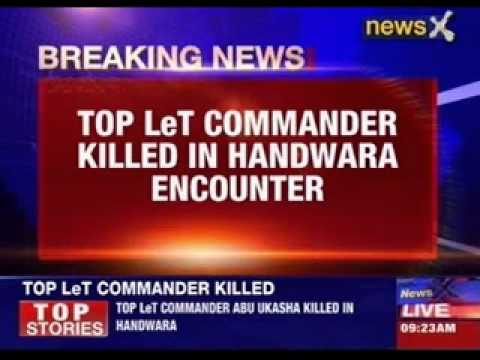 Top LeT commander killed in Handwara encounter