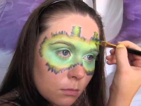 Maquillage Monstre. Tutoriel maquillage enfant