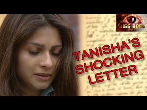 Bigg Boss 7 Tanisha's PRIVATE LETTER to Tanuja in Bigg Boss 7 9th December 2013 Day 85 FULL EPISODE
