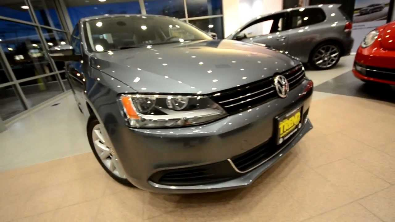 Brand New 2013 Volkswagen Jetta Se W Convenience At Trend
