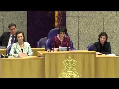 خديجة عريب مغربية على رأس البرلمان الهولندي
