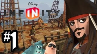 Disney Infinity Gameplay Walkthrough Part 1 Intro