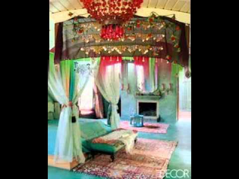 bohemian bedroom design decorating ideas youtube