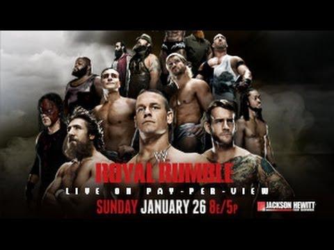 nL Live on Twitch.tv - WWE Royal Rumble 2014 [WWE 2K14 Simulation!]