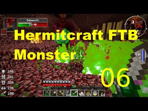 E-006- Nether Mining - Hermitcraft FTB Monster