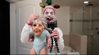 DADDY AND DAUGHTER SCARE MOMMY PRANK!!!