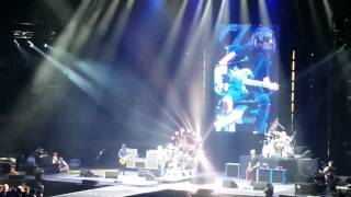 Foo Fighters crowd member sings Tom Sawyer Edmonton August 12th 2015