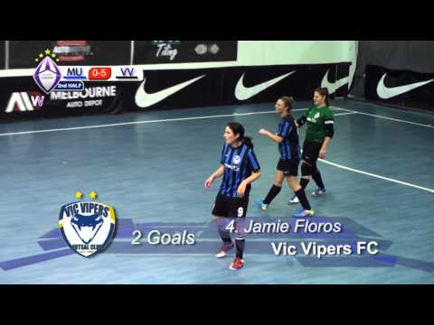 Melbourne Uni vs Vic Vipers FC, (Womens V-League) Round 5, 2013 Season