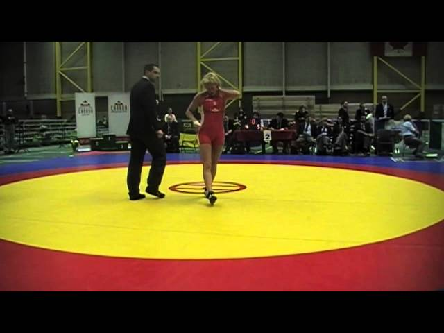 2014 Senior National Championships: 58 kg Final Liz Sera vs. Celeste Contant-Rodrigues