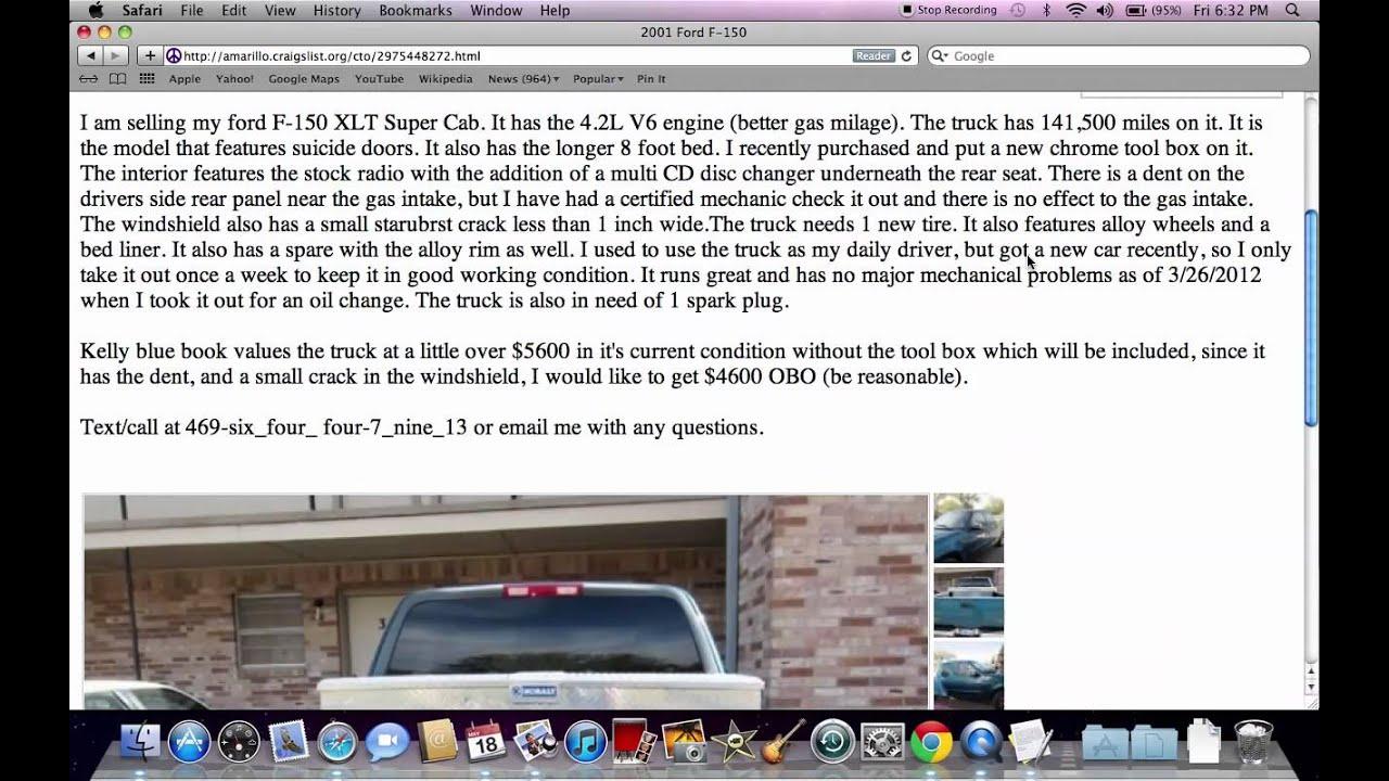Craigslist Used Cars Amarillo Texas