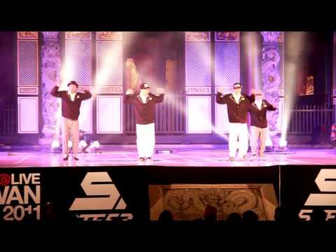 11.11.27 Taiwan Dance@Live 決戰孔廟 Level Six  Korea (HD)