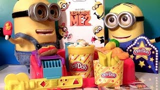 Play Doh Poppin' Movie Snacks Popcorn Ice Cream Despicable
