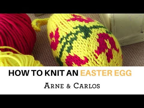 How to knit an Easter Egg by ARNE & CARLOS