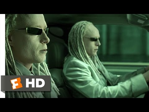 The Matrix Reloaded (4/6) Movie CLIP - Freeway Fight (2003) HD