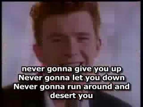 never gonna give you up lyrics