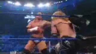 WWE Triple H & Undertaker VS Edge & Big Show (Parte 1