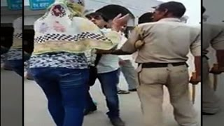 Ambala girl thrashes eve teaser in front of cop
