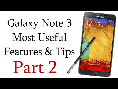 Samsung Galaxy Note 3 Most Useful And Less Known (16) Features By Intellect Digest- Part 2