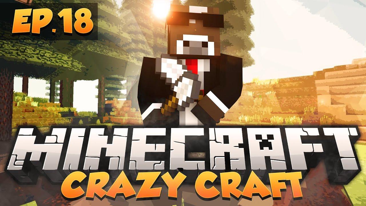 Crazy craft modded survival ep 18 minecraft crazy craft