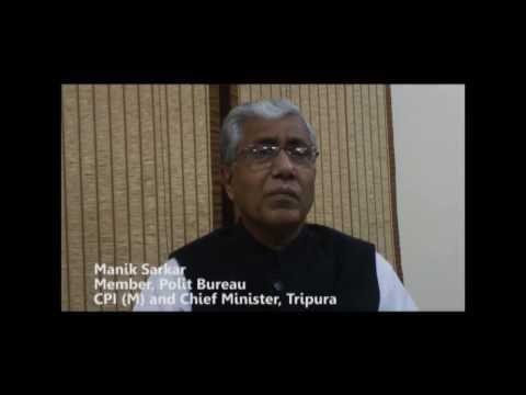 Manik Sarkar on Attacks on N.E Students
