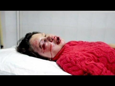 image vidéo الإعتداء على صحفية من قبل الشرطة