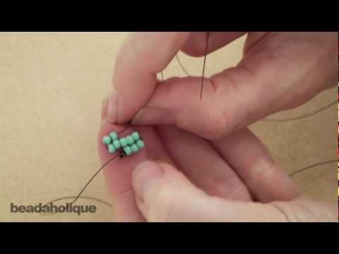 How to Perform Increases in Square Stitch Bead Weaving