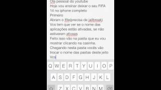 TUTORIAL:COMO DESBLOQUEAR FIFA 14 IPHONE/IPAD/IPOD PELO