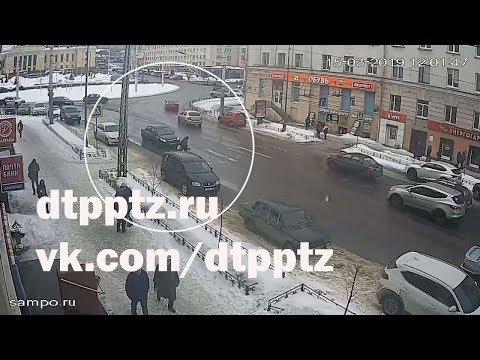 На проспекте Ленина сбили пешехода