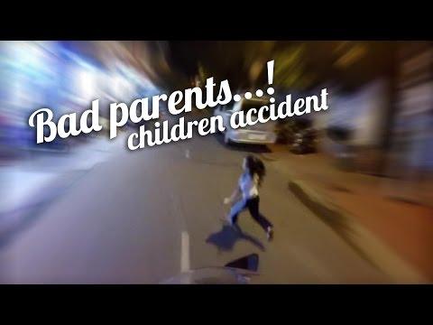 Tai nạn giao thông - Biker tông trẻ em và văn hóa ứng xử - Vietnam motovlog